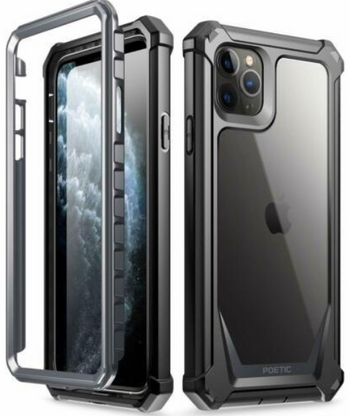 For iPhone 11,11 Pro,11 Pro Max,Xs Max Case,Poetic Hybrid Shockproof Cover