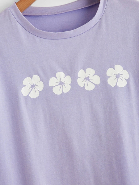 FREEJOY Flower Graphic Tee