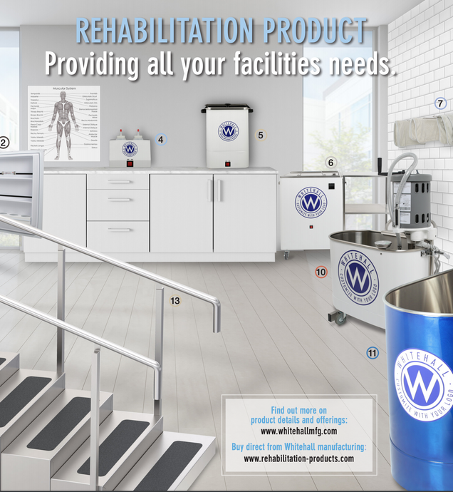 Whitehall® Releases New Rehabilitation Brochure