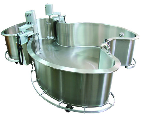full immersion tank for hydrotherapy