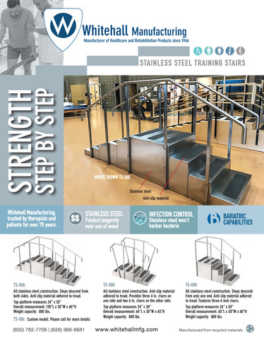 Stainless Steel Training Stairs Brochure