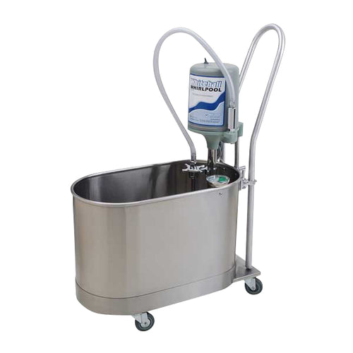 P-10-MH 10 Gallon Mobile Whirlpool with Handle