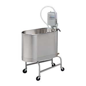 E-22-MU 22 Gallon Mobile Whirlpool with Undercarriage