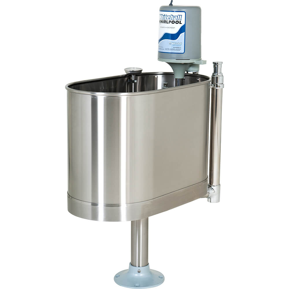 E-22-SP 22 Gallon Stationary Whirlpool with Pedestal