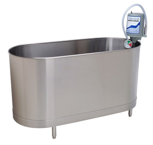 Whitehall Stainless Steel S-110-SL 110 Gallons Stationary Whirlpool with Legs