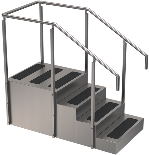 TS-400 One-Sided Training Stairs
