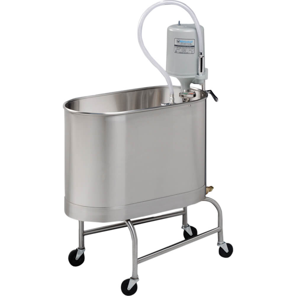 P-15-MU 15 Gallon Mobile Whirlpool with Undercarriage