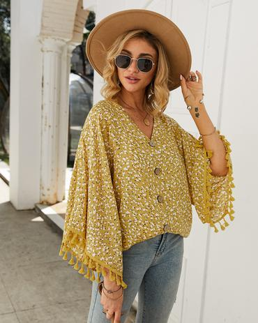 spring tops, dotted pattern, fancy tops