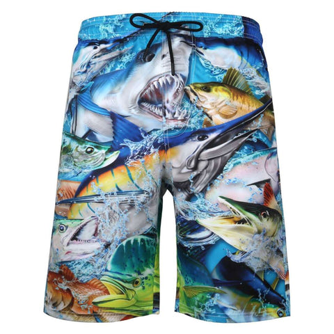 printed shorts, boy's shorts, beach shorts