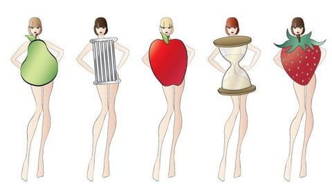 women body shape