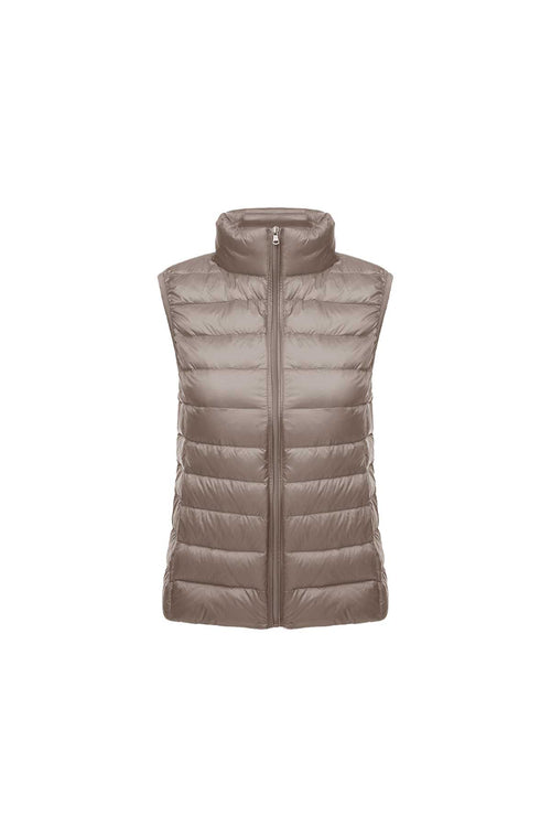 WearWhale Women Short Lightweight Down Vest All-match Duck Down Vest