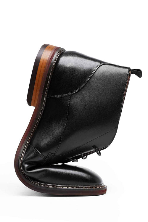 WearWhale Men Classic Design Handmade Craft The Dress Boot
