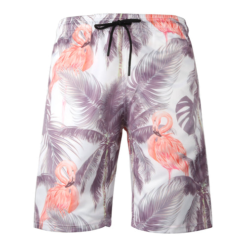 WearWhale Men's Beach Shorts Quick-dry Bermudas for Casual Style