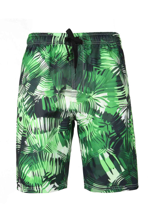 WearWell Men's Beach Shorts Digital Printed Beachside Casual Style for Vocation