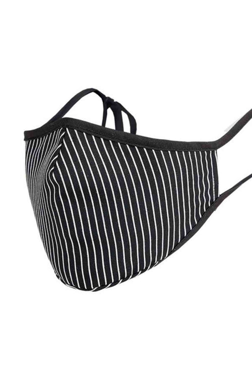 WearWhale Men Women Stripes Washable Face Mask Face Cover Mouth Cover