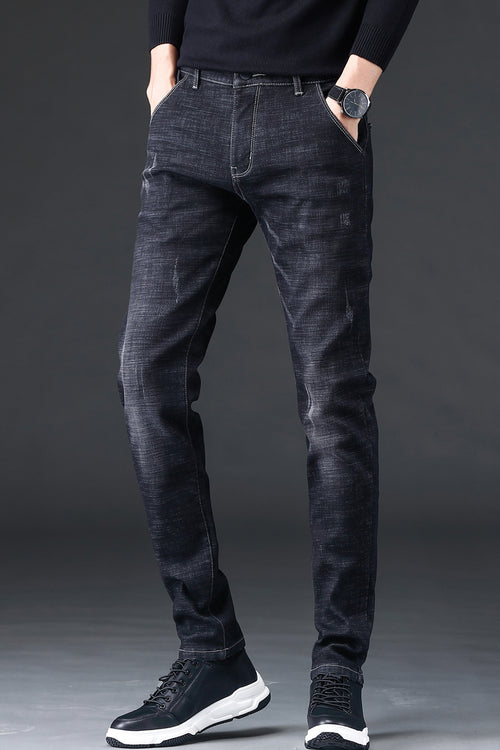 WearWhale Men Spring And Summer Pencil Jeans