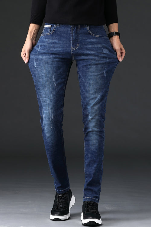 WearWhale Men Spring And Summer Jeans