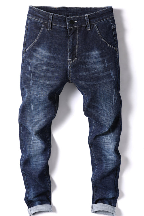 WearWhale Men Spring And Summer Stretch Pencil Jeans