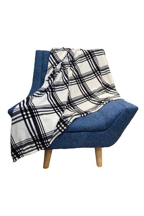 WearWell Flannel Throw Blankets