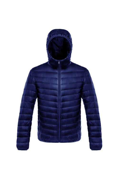 WearWhale Unisex Basketball Long Down Hooded Jacket