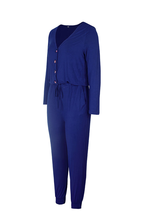 WearWhale Women Spring 2021 New In Pure Colored Jumpsuits