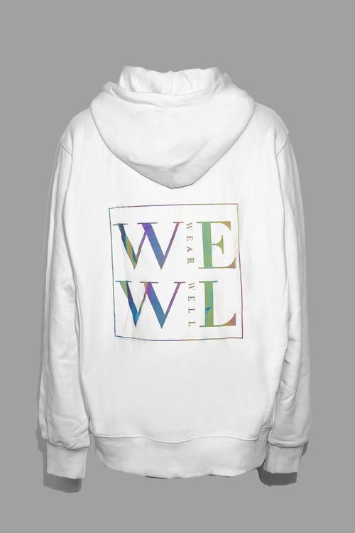WearWhale Women Long Sleeve Striped Sweatshirt Pullover Casual Hoodies