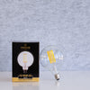 G125 10W LED Long Filament Light Bulb E27 3000K Clear Glass | Superior Quality LED Light Globes | Vintage LED