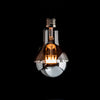 A80 LED Filament 6W E27 Clear Glass Silver Cap Bulb | LED light globes | Vintage LED