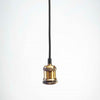 Brass Metal Pendant E27 | Vintage LED