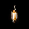 Candle 3W LED Filament Light Bulb E14 2700K Clear Glass | Superior Quality LED Light Globes | Vintage LED