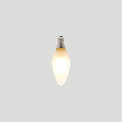 Candle 3W LED Filament Light Bulb E14 2700K Frosted Glass | Superior Quality LED Light Globes | Vintage LED