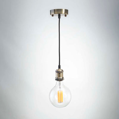 Copper Metal Pendant E27 | Vintage LED
