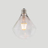 Diamond LED filament 6W E27 standard screw clear glass bulb | LED light globes | Vintage LED