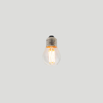 G45 3W Fancy Round LED Filament Light Bulb E27 2200K Clear Glass | Superior Quality LED Light Globes | Vintage LED