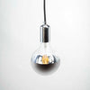 G125 6W LED Filament Light Bulb E27 2200K Clear Glass with Silver Cap | Superior Quality LED Light Globes | Vintage LED