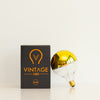 G125 6W LED Filament Light Bulb E27 2200K Clear Glass with Gold Cap | Superior Quality LED Light Globes | Vintage LED