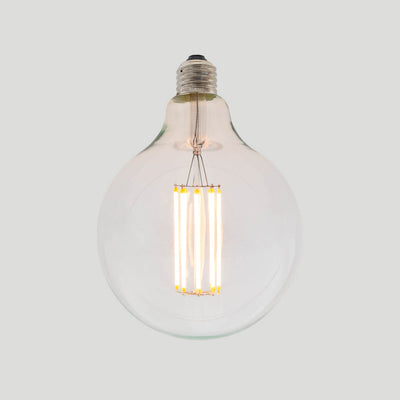 G125 8W LED Long Filament Light Bulb E27 2200K Clear Bulb | Superior Quality LED Light Globes | Vintage LED