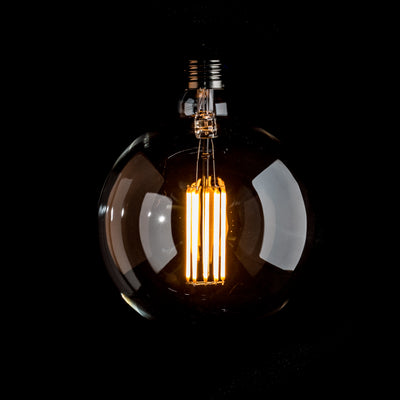 G150 LED Filament 10W E27 Clear Glass Bulb | LED light globes | Vintage LED