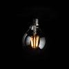 G80 LED Filament 6W E27 Clear Glass Bulb | LED light globes | Vintage LED