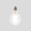 G95 8W LED Long Filament Light Bulb E27 3000K Clear Glass | Superior Quality LED Light Globes | Vintage LED