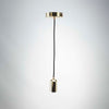 Gold metal pendant E27 | Vintage LED