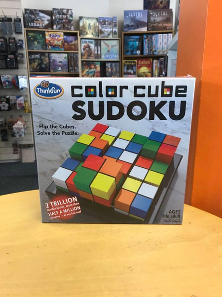 Colour Cubes Sudoku