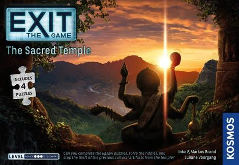 Exit Jigsaw Puzzle - The Sacred Temple
