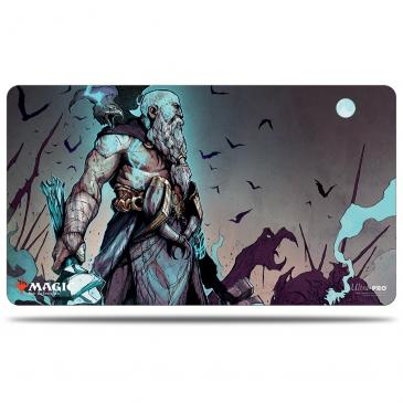 Magic: The Gathering- Kaldheim Playmat featuring Alrund, God of the Cosmos