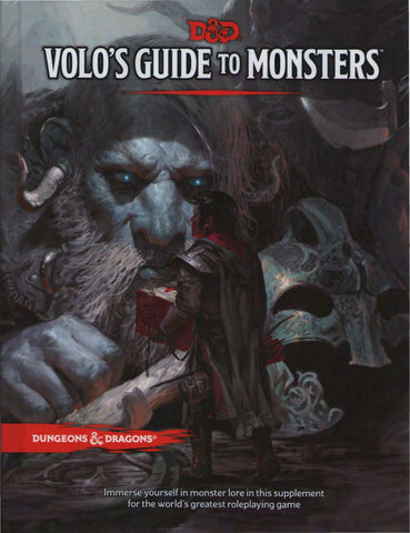 Dungeons & Dragons 5th Edition - Volo's Guide to Monsters