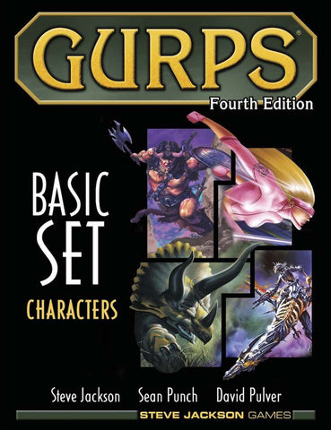 GURPS Basic Set - Characters