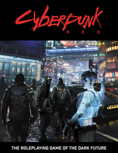 Cyberpunk Red RPG Core Rulebook (Comes with Free PDF!)