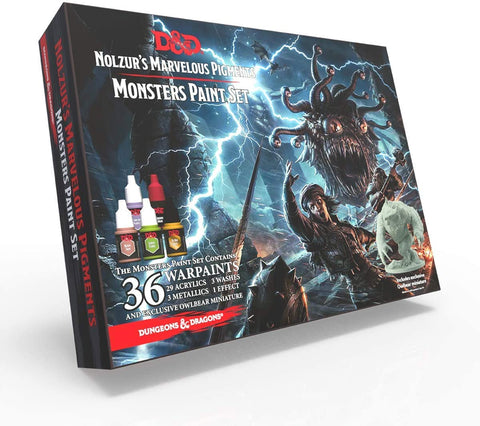D&D Nolzur's Marvellous Pigments - Monsters Paint Set