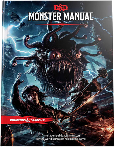Dungeons & Dragons 5th Edition - Monster Manual