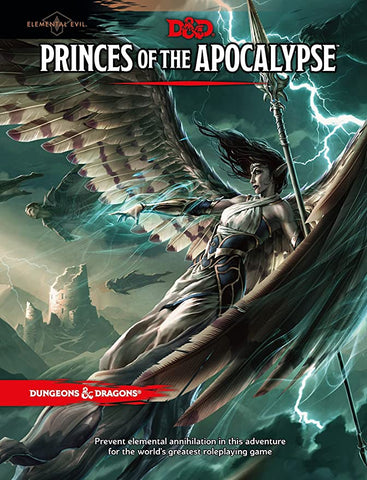 Dungeons & Dragons 5th Edition - Princes of The Apocalypse